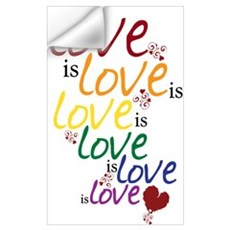 Love is Love (Gay Marriage) Wall Decal