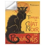 Black cat Wall Decals