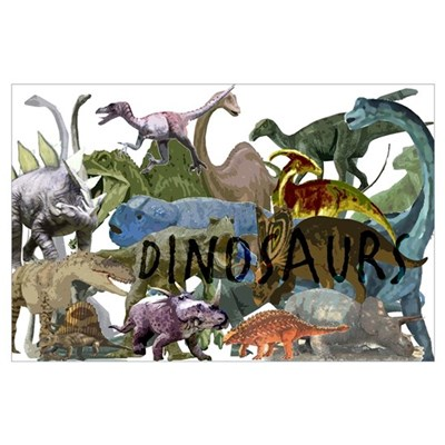 All the Dinos Poster