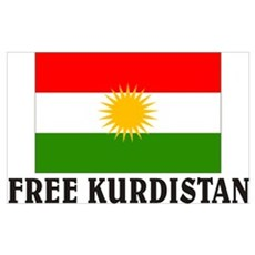 Free Kurdistan Canvas Art