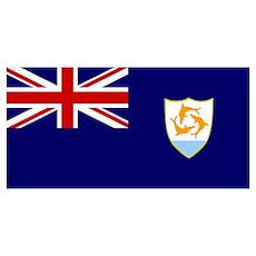 Anguilla Flag Poster