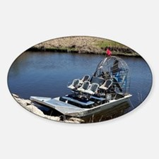 Florida swamp airboat 2 Decal