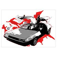 DeLorean Poster