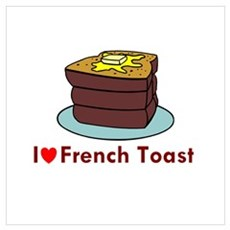French Toast Framed Print