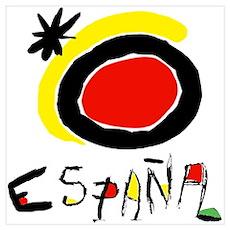 Spainish Soccer Poster