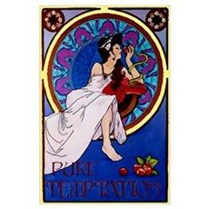Temptations Advertising Poster