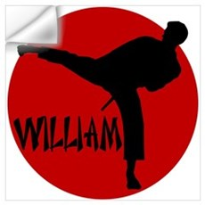 William Karate Wall Decal