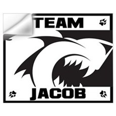 Team Jacob - Wolf Logo Wall Decal