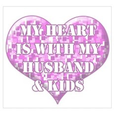 My Heart Is With My Husband & Poster
