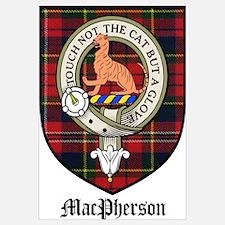 MacPherson Clan Crest Tartan
