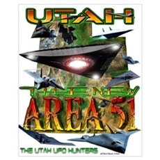 Utah The New Area 51 Framed Print