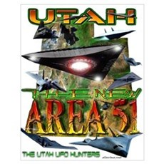 Utah The New Area 51 Poster