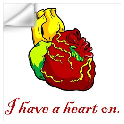 I Have A Heart On Wall Decal