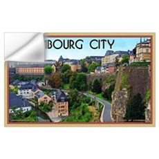 Luxembourg City Wall Decal