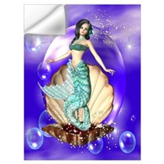 Sparkling Mermaid Wall Decal