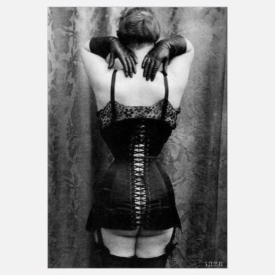 Black Victorian Corset