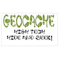 Geocache! Poster