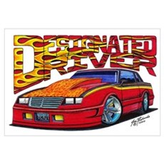 1987-88 Chevrolet Monte Carlo Canvas Art