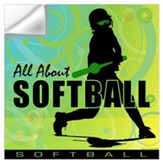 2011 Softball 108 Wall Decal