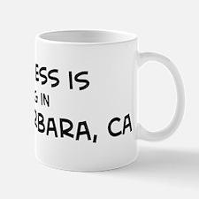 Happiness is Santa Barbara Mug