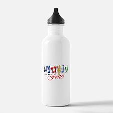 Music Is My Forte! Sports Water Bottle