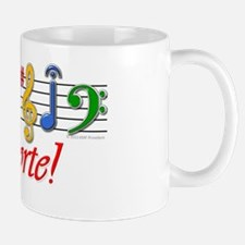 Music Is My Forte! Small Mugs
