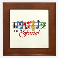 My Forte! Framed Tile