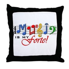 My Forte! Throw Pillow