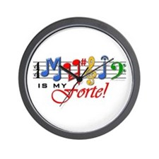 My Forte! Wall Clock