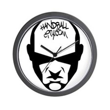 HandballCity Cyborg Logo 2 Wall Clock