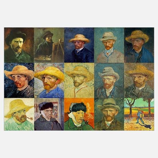 van Gogh Self Portraits Montage