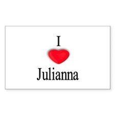 Julianna Rectangle Decal