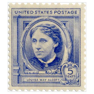 Louisa May Alcott Poster