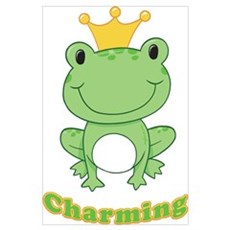 Charming (Frog) Poster