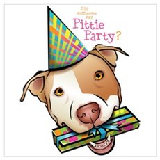 Pittie Party Poster