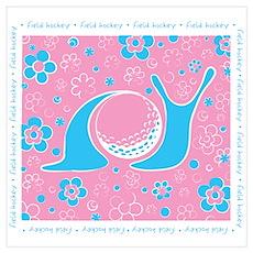 Snail Harbor Field Hockey Poster