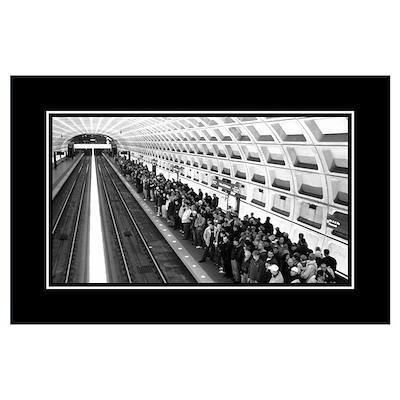 DC Metro B&W Poster