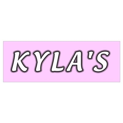 Baby name Kyla Canvas Art
