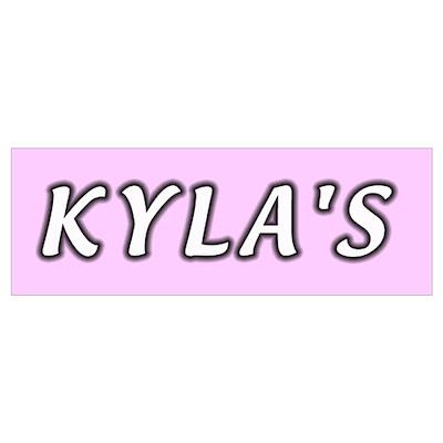 Baby name Kyla Poster