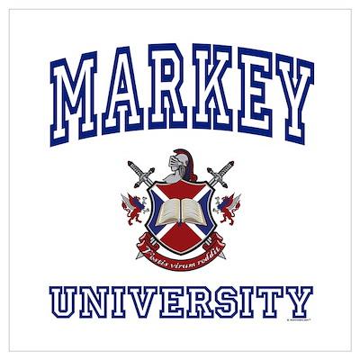 MARKEY University Poster