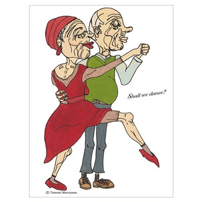 Shall We Dance? Canvas Art