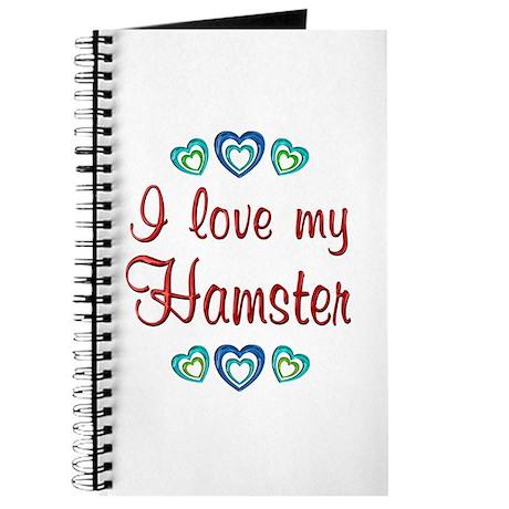 Love My Hamster Journal