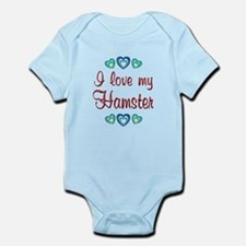 Love My Hamster Infant Bodysuit
