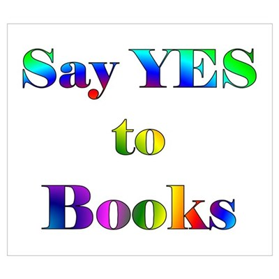 Yes to Books Canvas Art