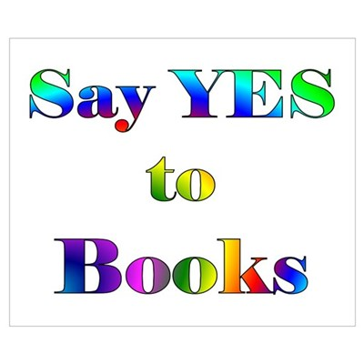 Yes to Books Poster
