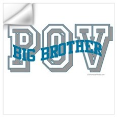 BIG BROTHER POV Wall Decal
