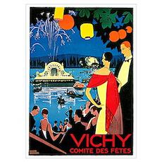 Vintage Vichy Comite des Fetes Poster