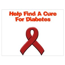 find cure diabetes Poster