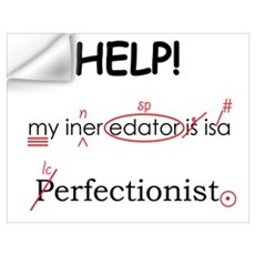 Perfectionist Editor Wall Decal