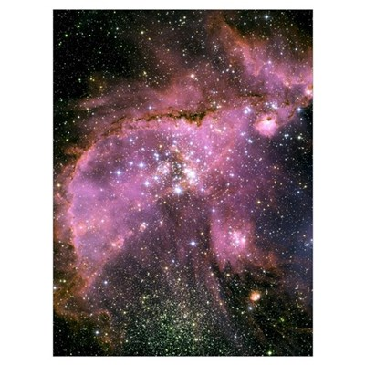 Star Cluster Poster